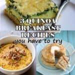 3 Must-Try Breakfast Quinoa Recipes
